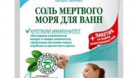 FITOKOSMETIK Sůl do koupele z Mrtvého moře Silná imunita 530g