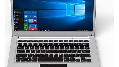 Notebook Umax VisionBook 14Wa stříbrný + dárky (UMM200V45)
