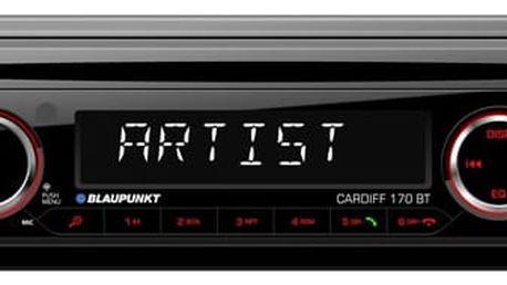 Autorádio s CD Blaupunkt Cardiff 170 BT černé (2001017123459)
