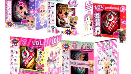 L.O.L.y Surprise Panenky v kuličce mix