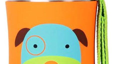 SKIP HOP Zoo Láhev na vodu nerezová 350 ml - Pejsek