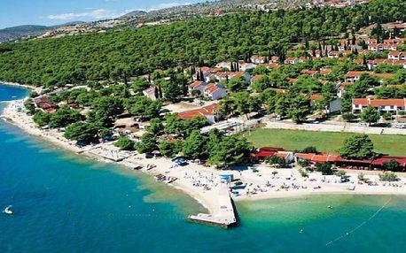 Chorvatsko - Trogir na 4 až 7 dní, bez stravy s dopravou vlastní 300 m od pláže
