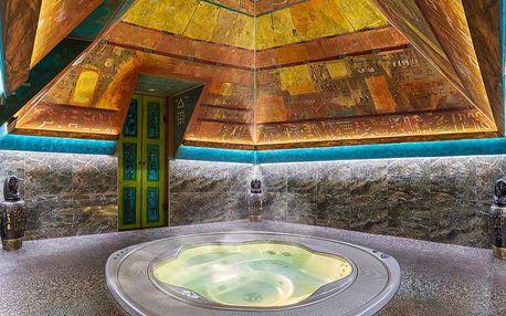 2 hodiny wellness v pyramidě s vířivkou i bazénem