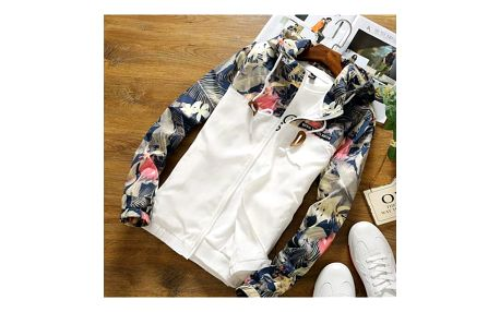 Dámská bunda s květinovými rukávy - 3 varianty