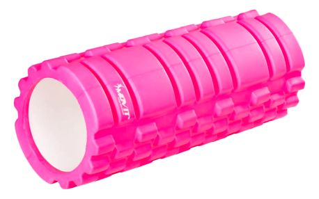 MOVIT FITNESS ROLLER 40581 Posilovací masážní válec - růžová