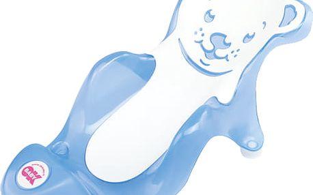OK BABY Lehátko do vaničky Buddy - modré