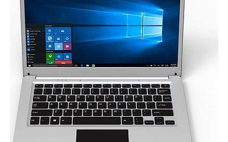 Notebook Umax VisionBook 14Wa (UMM200V45) stříbrný Software F-Secure SAFE, 3 zařízení / 6 měsíců v hodnotě 979 Kč