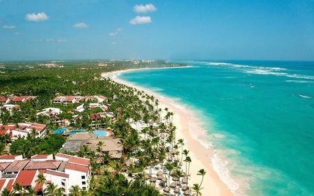 Dominikánská republika - Punta Cana na 8 až 9 dní, all inclusive nebo ultra all inclusive s dopravou letecky z Prahy přímo na pláži