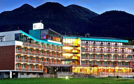 4* relax v Julských Alpách s aquaparkem v hotelu
