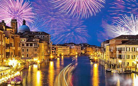 Silvestr v Benátkách - 3denní zájezd pro 1 osobu s CZ AD dopravní a prohlídka města s průvodcem.