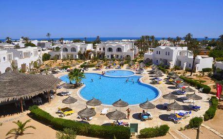 Tunisko - Djerba na 8 až 12 dní, all inclusive s dopravou letecky z Prahy 100 m od pláže