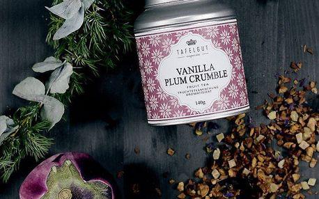 TAFELGUT Ovocný čaj Vanilla Plum Crumble - 140gr, fialová barva, kov