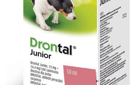 DRONTAL JUNIOR A.U.V. SUS 50ML+APLIKÁTOR