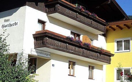 Rakousko - Kaprun / Zell am See na 4 až 8 dní, bez stravy s dopravou vlastní