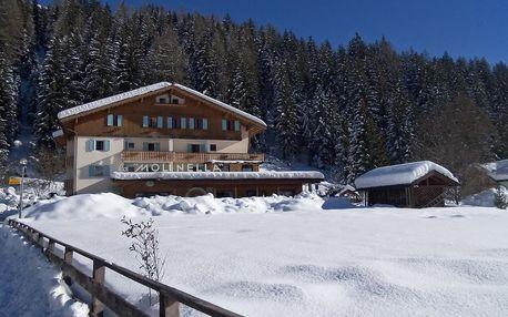 5denní Val di Fassa se skipasem, denní přejezd | Hotel La Molinella*** | Doprava, ubytování, polopenze a skipas