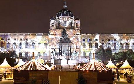 Adventní zájezd na vánoční trhy i do Primarku ve Vídni pro jednoho.
