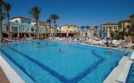 Kanárské ostrovy - Fuerteventura na 8 dní, polopenze, snídaně nebo bez stravy s dopravou letecky z Prahy 600 m od pláže