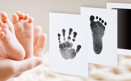 Sada na obtisknutí dětské ručičky a nožičky