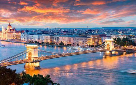 Podzimní Budapešť v apartmánu pro dva