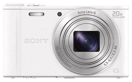 Digitální fotoaparát Sony Cyber-shot DSC-WX350 bílý