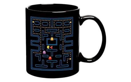 Magický hrnek s motivem Pacmana