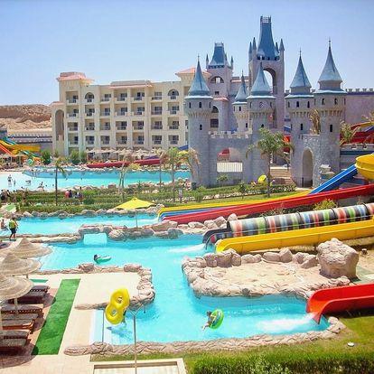 Egypt - Hurghada na 8 dní, all inclusive nebo ultra all inclusive s dopravou letecky z Prahy 600 m od pláže