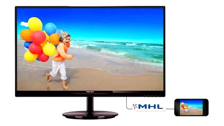 Monitor Philips 274E5QHSB černý (274E5QHSB-FHD)