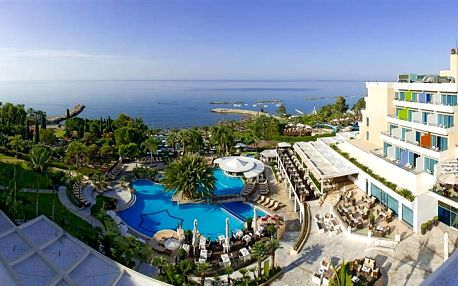 Kypr - Limassol na 8 až 13 dní, plná penze nebo polopenze s dopravou letecky z Prahy přímo na pláži