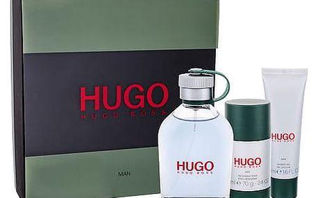 HUGO BOSS Hugo Man EDT dárková sada M - EDT 125 ml + sprchový gel 50 ml + deostick 75 ml