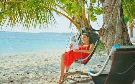 Maledivy - Atol Ari na 10 dní, plná penze s dopravou letecky z Prahy přímo na pláži