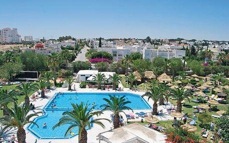 Tunisko - Port El Kantaoui na 8 až 12 dní, polopenze s dopravou letecky z Prahy 600 m od pláže