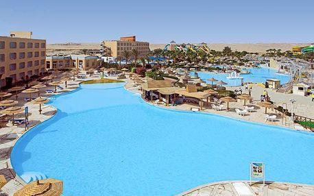 Egypt - Hurghada na 8 dní, all inclusive s dopravou letecky z Prahy 750 m od pláže