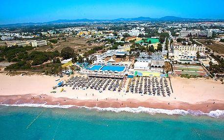 Tunisko - Hammamet na 8 až 12 dní, all inclusive s dopravou letecky z Prahy přímo na pláži
