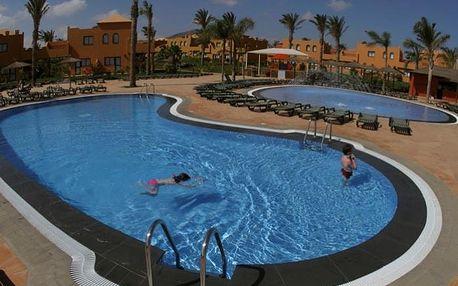 Kanárské ostrovy - Fuerteventura na 8 až 15 dní, all inclusive nebo bez stravy s dopravou letecky z Budapeště nebo Prahy 7 km od pláže