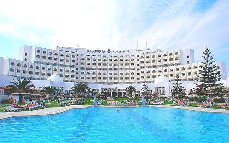 Tunisko - Sousse na 8 až 12 dní, all inclusive s dopravou letecky z Prahy 200 m od pláže