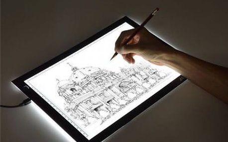 Svítící tabule pro snadné kreslení LightDraw