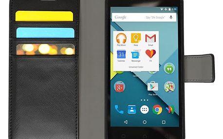 Pouzdro na mobil flipové Lenovo pro Vibe C černé (LEN-FCVIBC-D )
