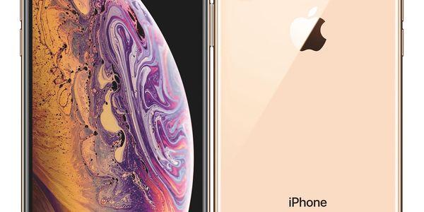 Mobilní telefon Apple iPhone Xs 64 GB - gold (MT9G2CN/A) + DOPRAVA ZDARMA3