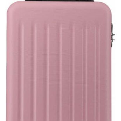 Růžový kabinový kufr Romero 1872