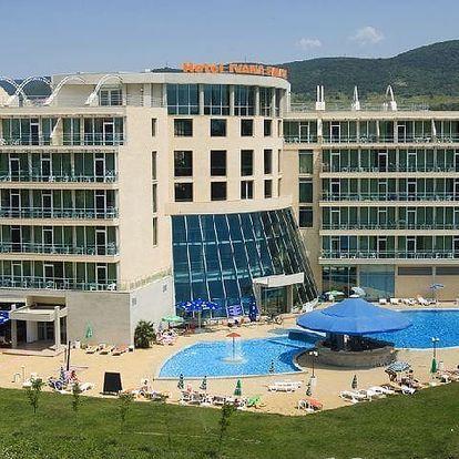 Bulharsko - Slunečné Pobřeží na 5 až 8 dní, polopenze s dopravou letecky z Bratislavy 300 m od pláže