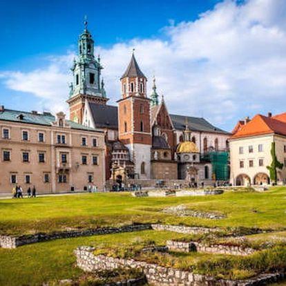 4 dny pro dva v úžasném Krakově v příjemném hotelu kousek od Starého Města