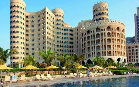 Spojené arabské emiráty - Ras Al Khaimah na 5 až 6 dní, polopenze nebo snídaně s dopravou letecky z Prahy přímo na pláži