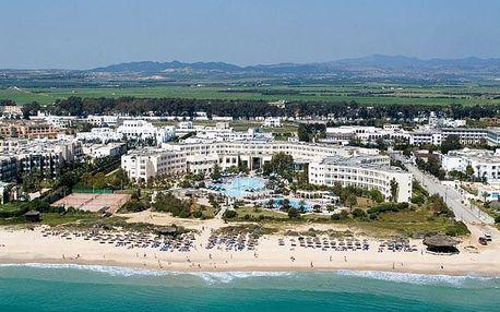 Tunisko - Yasmine Hammamet na 8 až 16 dní, all inclusive s dopravou letecky z Prahy přímo na pláži