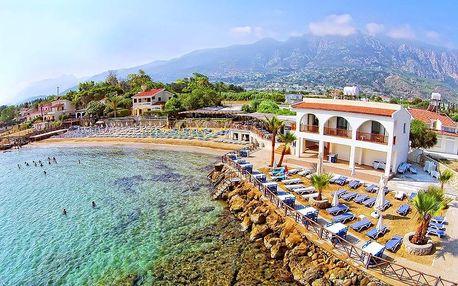 Kypr - Severní Kypr na 8 dní, light all inclusive, polopenze nebo snídaně s dopravou letecky z Prahy 2 km od pláže