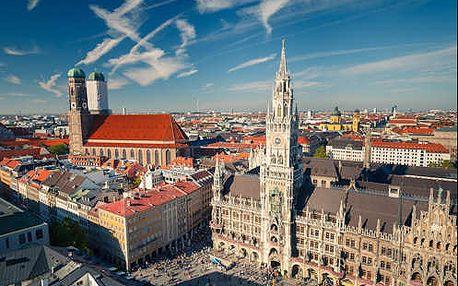 Pobyt v Mnichově - světoznámé metropole Bavorska. Až 2 děti do 17 let zdarma!