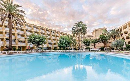 Kanárské ostrovy - Gran Canaria na 8 až 12 dní, all inclusive, polopenze nebo snídaně s dopravou letecky z Prahy 400 m od pláže