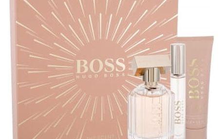 HUGO BOSS Boss The Scent For Her dárková kazeta pro ženy parfémovaná voda 50 ml + parfémovaná voda 7,4 ml + tělové mléko 50 ml