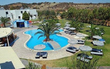 Řecko - Rhodos na 4 až 15 dní, all inclusive, polopenze nebo snídaně s dopravou letecky z Prahy 100 m od pláže