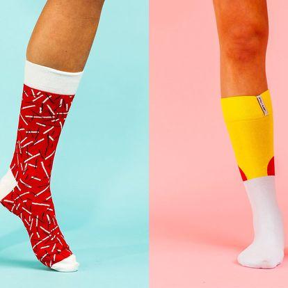 Designové ponožky LØVE+FUN SOCKS