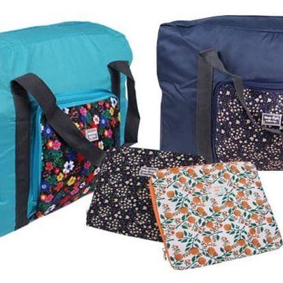Skládací cestovní taška WeekEigh s objemem až 28 l ve třech barevných variantách